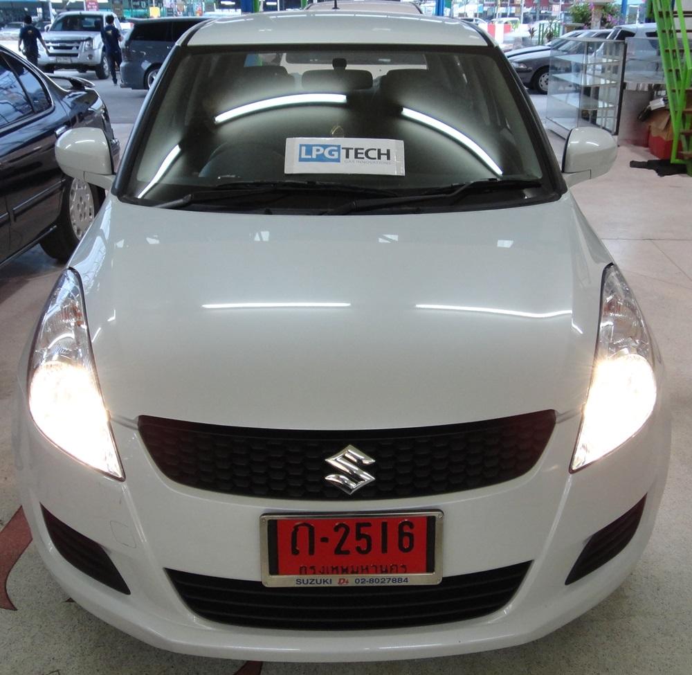 94 Suzuki Consumer Ratings: Suzuki Swift LPG TECH ถังโดนัท 33 ลิตร