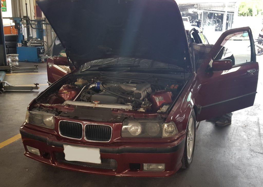 BMW ติดแก๊ส