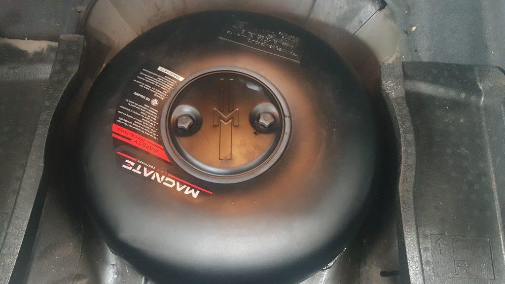 ถังแก๊ส โดนัท พร้อมติดตั้งใน รถยนต์